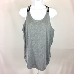 Nike Dri Fit Tank Top Athletic XL Gray Stretch